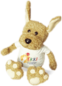 EKKI - Das Maskottchen der Elterninitative krebskranker Kinder im Saarland e.V.
